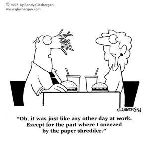 Shredder Problems